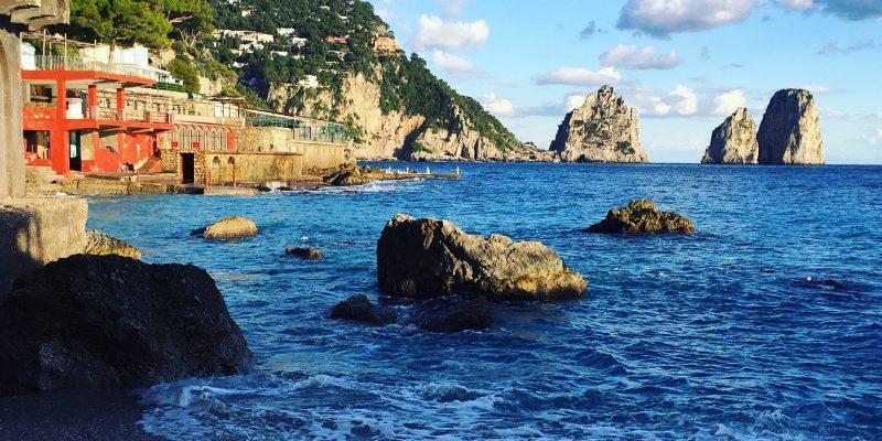 Marina Piccola tra le più belle spiagge d'Italia